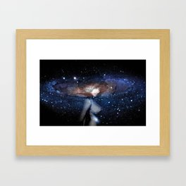 Nubian Galaxy  Framed Art Print
