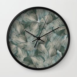 Granny Smith Interlaces Wall Clock
