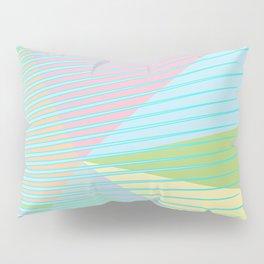 Pastel Points Pillow Sham