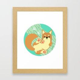 Chai Dog Framed Art Print