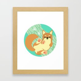 Chai Dog Framed Art Print