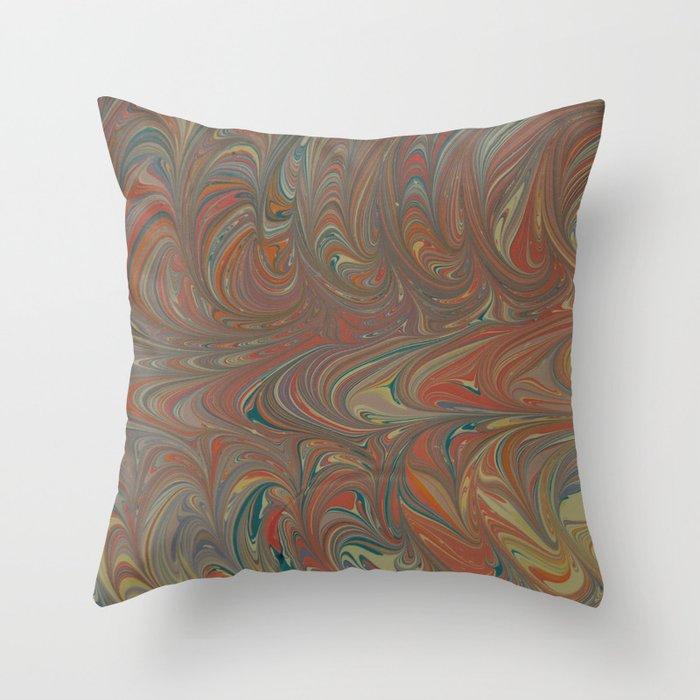 Marble Print #5 Throw Pillow