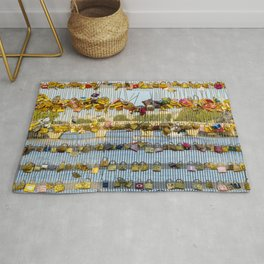 Love padlocks - Paris, France Rug