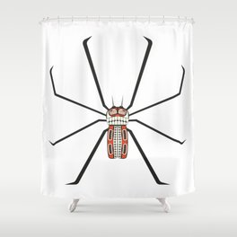 The Killer (Spider) Shower Curtain