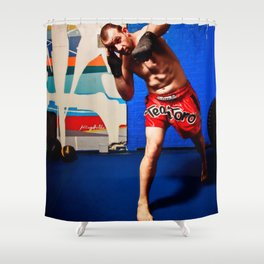 Fight : Punch Shower Curtain