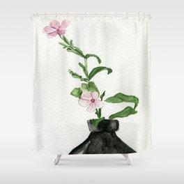 Little Impatiens Shower Curtain