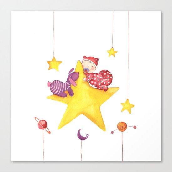 Baby star Canvas Print