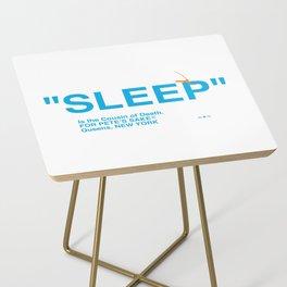 """""""SLEEP"""" Side Table"""