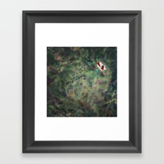 Rocket Ship Framed Art Print