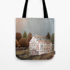 Forget about your house of cards Tote Bag