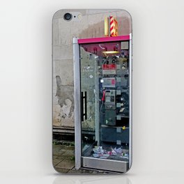 T-Mobil Telephone Booth (Deutsche Telekom) iPhone Skin