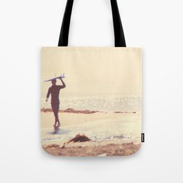 Surfer photograph. A Visceral Need Tote Bag