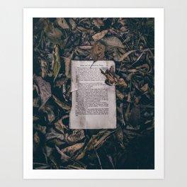 Lost Knowledge Art Print