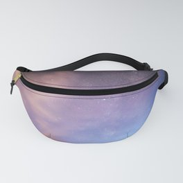 Pink Blue Glitter Galaxy Fanny Pack