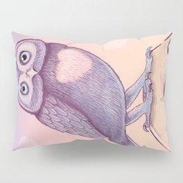 Little Owl + Skull Pillow Sham