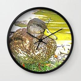 Impressive Animal - sketchy Duck Wall Clock