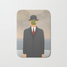 Magritte x Apple Bath Mat
