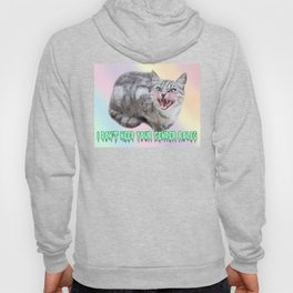 I DON'T NEED YOUR GENDER ROLES - kitter Hoody