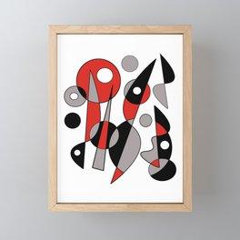 Abstract #790 Framed Mini Art Print