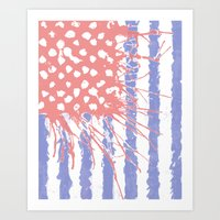 introvert Art Prints featuring DRENCH.american introvert by instantgaram