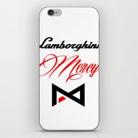 lamborghini iPhone & iPod Skins featuring Lamborghini Mercy by André Purve