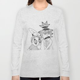 R&M spaced out Long Sleeve T-shirt