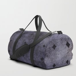 Dark Metal Duffle Bag