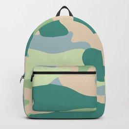 Pastel camouflage pattern design  Backpack