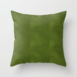 Crocodile Skin Pattern Throw Pillow