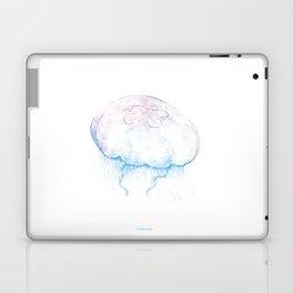 Aurelia aurita (color) Laptop & iPad Skin