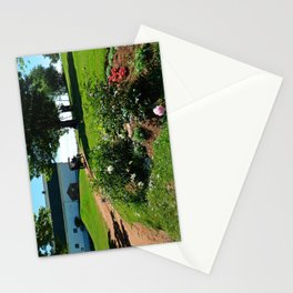 Horse Drawn Carriage on Farm in PEI Stationery Cards