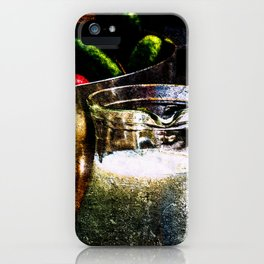 Still-Life Of Milk And Vegetables iPhone Case