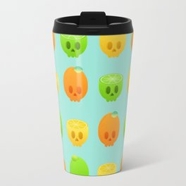 Citrus Skulls Travel Mug