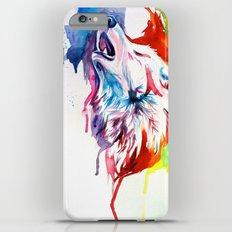 Rainbow Wolf Slim Case iPhone 6s Plus