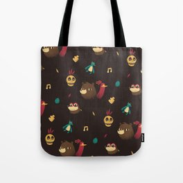 banjo pattern Tote Bag