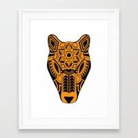jaguar Framed Art Prints featuring jaguar by danta