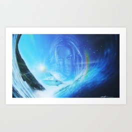 'Into The Void' Art Print