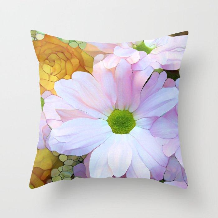 Ode to Summer Throw Pillow
