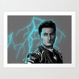 Electric Art Print