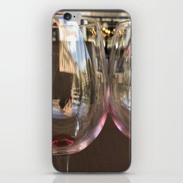 Glass reflections iPhone Skin