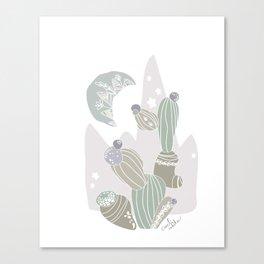 cacti rabika Canvas Print