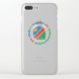 Namibia Its In My DNA Clear iPhone Case