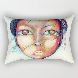 Madame Butterfly Rectangular Pillow