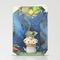 over the garden wall Stationery Cards featuring Over the Garden Wall by zaMp