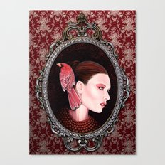 Dame Kardinal fig2 Canvas Print