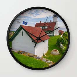 Portland Lighthouse Maine Wall Clock