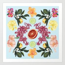 Fruit & Floral Art Print