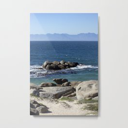 Atlantic Ocean Lovescapes Metal Print