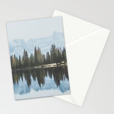 Italian Dolomites (landscape version) Stationery Cards