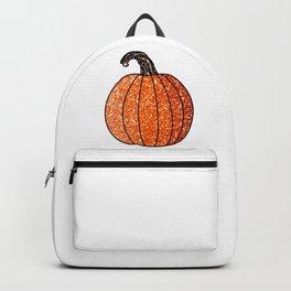 Glitter Pumpkin Backpack